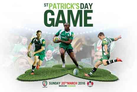London Irish  - Ticket  to Aviva Premiership London Irish v Gloucester on 20 March 2016 - Save 0%