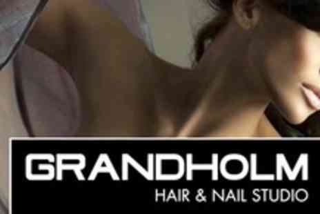 Grandholm Hair Studio - Tint, Cut and Blow Dry With Lanza Conditioning Treatment - Save 63%