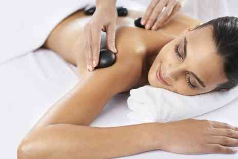 Royas Hair and Beauty - Aromatherapy or Hot Stone Massage and an Optional Facial  - Save 69%