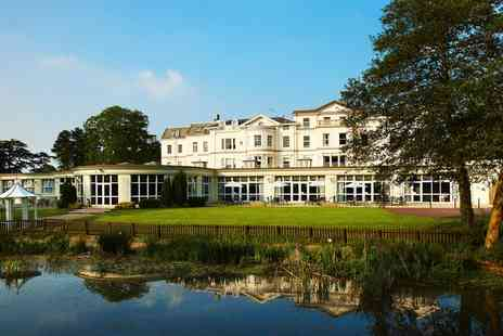 Cheltenham Park Hotel - One night Stay For Two With Breakfast, Dinner, Wine And Leisure Access With Option For Tea  - Save 0%
