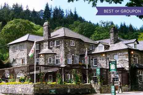 Swallow Falls Hotel - Two or Three Nights stay For Two With Breakfast, Cream Tea and Sauna Access - Save 44%