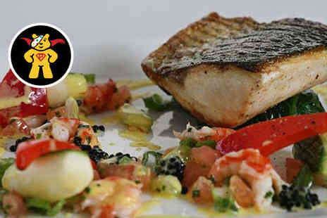 Les Bouviers Restaurant - Starter and Main Course with Glass of Prosecco Each for Two  - Save 0%