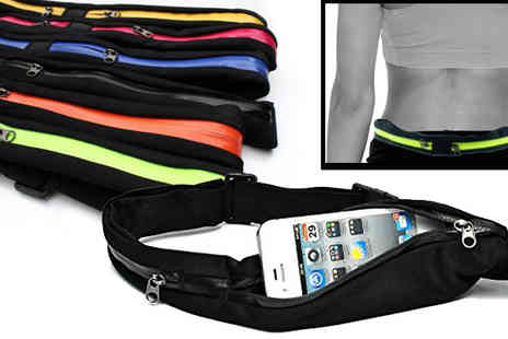 The Treasure Chest - Zip Pocket Running Belt - Save 71%