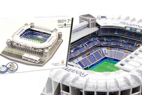 Gems Retail - 3D Football Stadium Puzzles And Puzzleballs - Save 50%