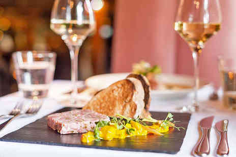 The Crazy Bear -  Two Courses with Premium Champagne and Dessert Wine - Save 63%