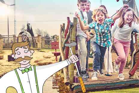 Abbey Hill Golf Centre - Eighteen Holes of Adventure Golf  - Save 40%