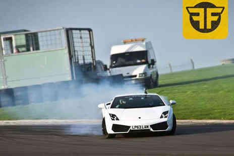 Flatout Factory - Car Drifting Experience for One or Two or Skids for Kids Drifting Experience for One or Two Children- Save 70%