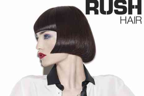 Rush HAIR - Half Head of Highlights, Cut & Finish with 37 Venues to Choose - Save 49%