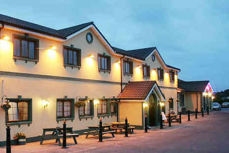 Rhu Glenn Hotel - One or Two Night Stay for Two with Breakfast Daily and a Late Checkout - Save 0%