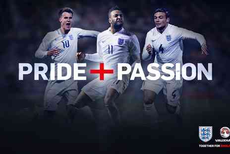 The FA - Ticket to UEFA Under 21 EURO 2017 Qualifier England v Switzerland - Save 0%
