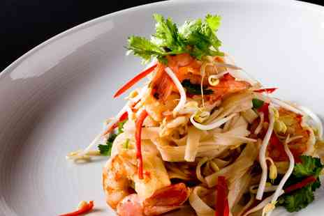 Bahn Thai - Two Course Thai Meal with Prawn Crackers for Two - Save 0%
