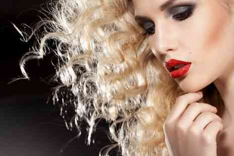 Headlines UK - Haircut and Blowdry with Glass of Wine - Save 51%
