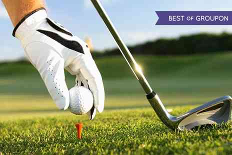 Huntswood Golf - Round of Golf Plus Bacon Roll and Hot Drink For Two - Save 57%