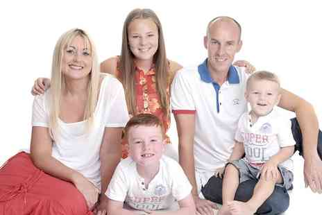 Gareth Doe Photography - Family Photoshoot with Prints, Art Block, DVD Slideshow and Voucher - Save 0%