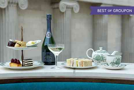 The Great Court Restaurant - Sparkling Afternoon Tea - Save 22%