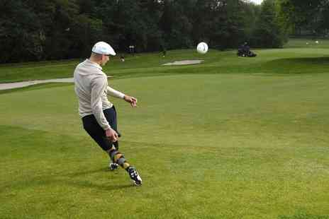 Calverley Golf Course - 18 Holes of Footgolf With Beer For One - Save 57%