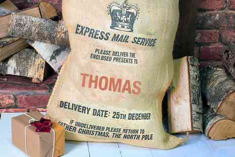 Tailor Made Gifts - Personalised Santa Sack - Save 60%