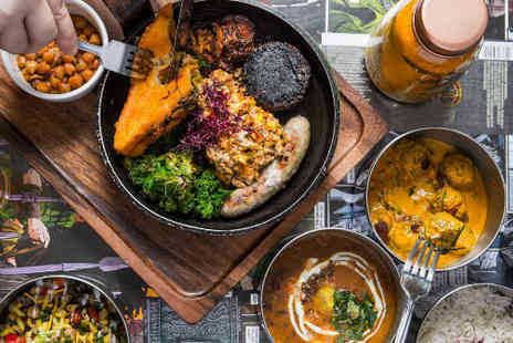 V Deep - V Deep curry meal for two including drinks - Save 57%