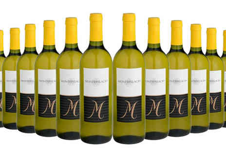 GLOBAL DEALS RIOJA PREMIUM - 12 Bottles of Montepalacio White Wine - Save 68%