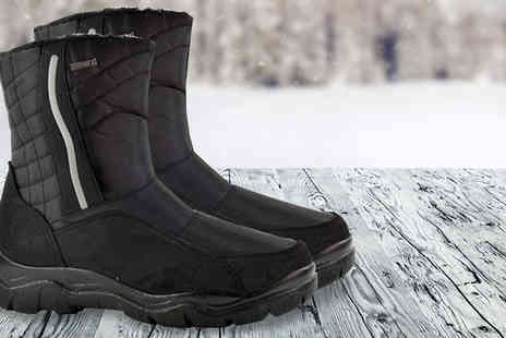 Mrs Marcos - Mens Water Resistant Winter Boots - Save 65%