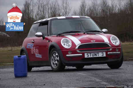 Stunt Drive  - Teen stunt driving experience and a £30 voucher to use  - Save 54%