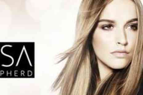 Lisa Shepherd - Half head of highlights or a full head of colour plus a cut, style and blow dry - Save 75%