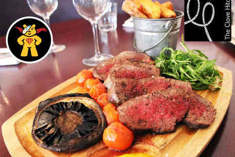 The Clove Hitch - £50 Pay £25 to Spend on Food for Two - Save 50%