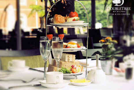 DoubleTree by Hilton - Afternoon Tea with Glass of Prosecco or Mulled Wine for Two - Save 0%