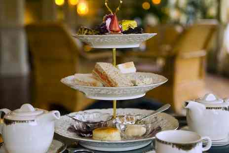Finest Blend - Festive High Tea with Optional Champagne for Two  - Save 50%