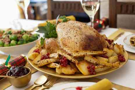 Hardwick Arms Hotel - Three Course Christmas Meal for One - Save 52%