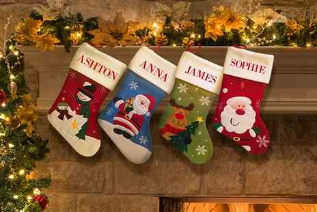Dinkleboo - Personalised Christmas Stocking  - Save 67%