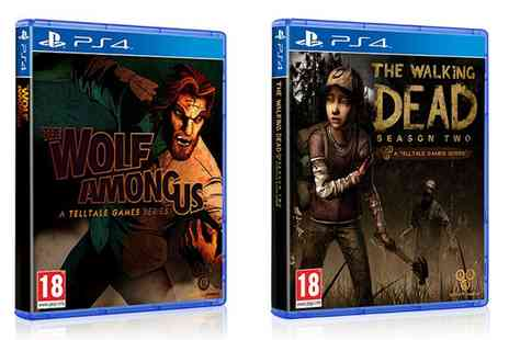 Groupon Goods Global GmbH - Duo Pack PS4 Games The Walking Dead  - Save 51%