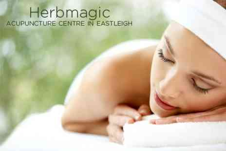 Herbmagic - Two Acupuncture Sessions Plus Hot Cupping Treatment for £22  - Save 76%