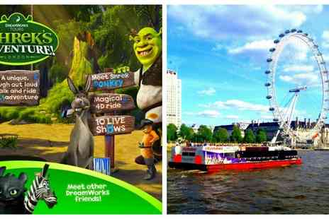 Shreks Adventure -  Tickets to Interactive Shrek's Adventure plus 24 hour hop on hop off cruise Tickets  - Save 0%