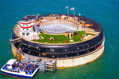No Mans Fort - Solent Island Fort Boat Trip, Sunday Lunch & More - Save 24%