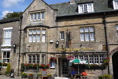 The Teesdale Hotel - One, Two or Three Night Stay for One Including Three Course Dinner on First Evening - Save 0%