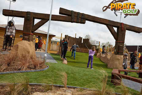 Mr Mulligan's Pirate Golf - 18 Holes of Golf for Family of Four with Hot Chocolate Each - Save 57%
