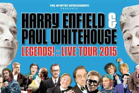 Phil Mcintyre - One Ticket to Harry Enfield and Paul Whitehouse Legends Live Tour 2015,   - Save 46%