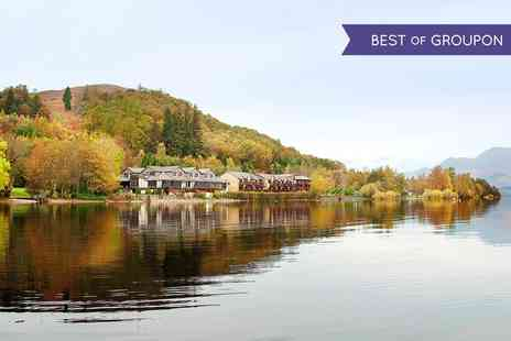 Lodge on Loch Lomond Hotel - One or two nights stay for two with breakfast - Save 0%