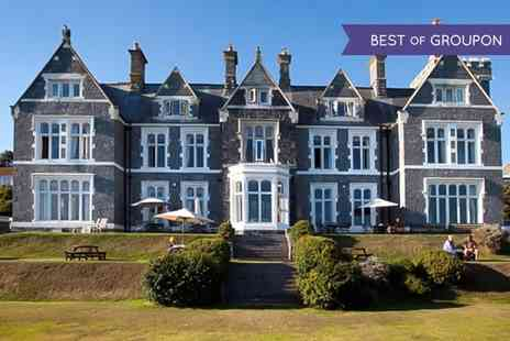 Whitsand Bay Hotel - Two or Three Nights stay For Two With Breakfast and Leisure Access - Save 0%