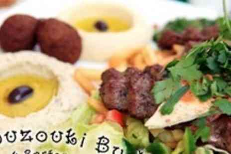 Bouzouki By Night - Greek Meze Banquet and Dessert For Two With Live Music and Dancing - Save 59%