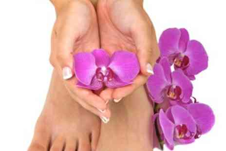 Jacksons for Hair - CND Luxury pedicures SHELLAC - Save 54%