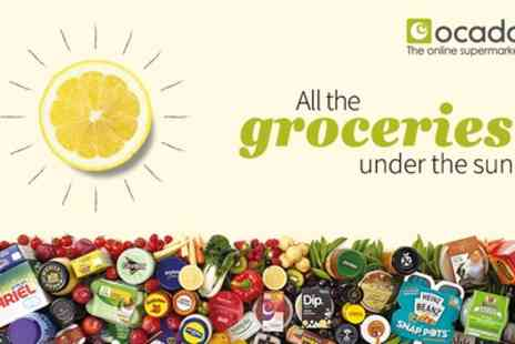 Ocado -  £40 to Spend on Groceries Plus Free Deliveries for Six Months with a Smart Pass  - Save 68%