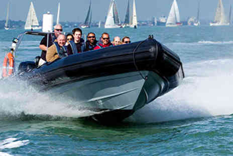 RIB Powerboat - 60 minute RIB powerboating session for two  - Save 60%