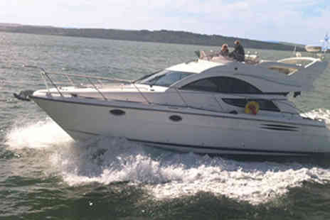 RIB - High Speed RIB and Luxury Cruiser Chase experience  - Save 50%
