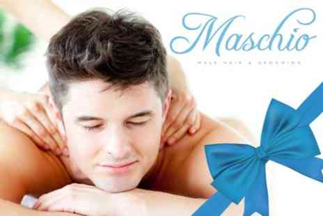Maschio - Ideal Father's Day Gift: Mens Massage Package for £16 - Save 73%