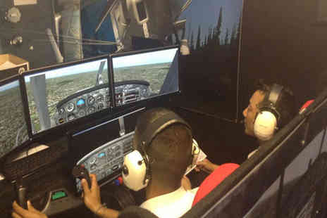 FlyByLight - One hour flight simulator experience for one - Save 51%