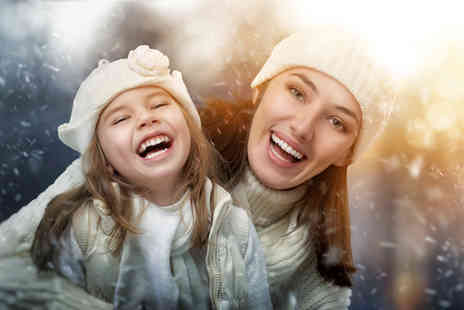 Cotyso Singing Experience - Two hour Winter Wonderland family photoshoot experience  - Save 91%