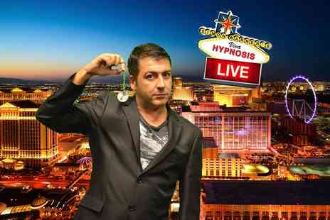 Simon Warners Viva Hypnosis - Ticket to see Simon Warners Viva Hypnosis live comedy hypnotist show  - Save 69%