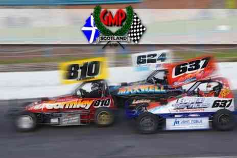 GMP (Scotland) Ltd - £10 For Two Adult Tickets and Dinner at Stock Car Racing at The Racewall Courtesy  - Save 63%